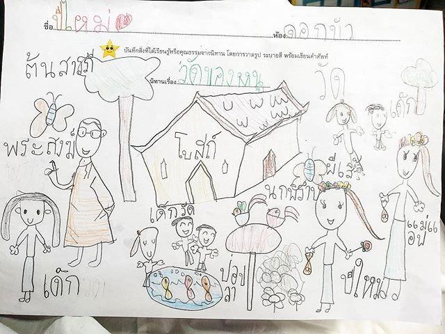 """""""น้องปีใหม่"""" วาดรูปครอบครัว แต่โดนชาวเน็ตแซว ขาดใครไปหรือป่าว?"""