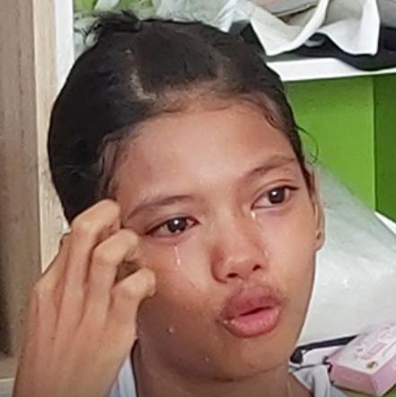 """เผยภาพล่าสุด """"น้องเนย"""" สาวน้อยไลฟ์สดขายสบู่ โดนบูลลี่เรื่องหน้าตาจนร้องไห้"""