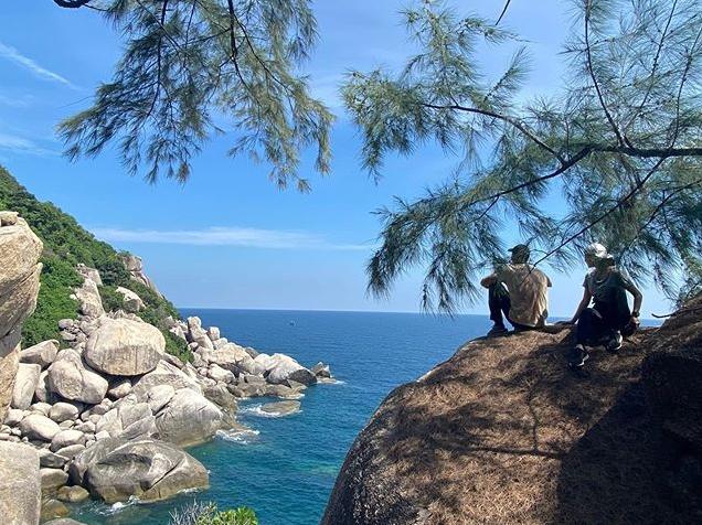 หวานเว่อร์ เวียร์ อวด 4 ภาพแรกจากทริปเกาะเต่า เบลล่า นางแบบบอกเอะอะเสยผม