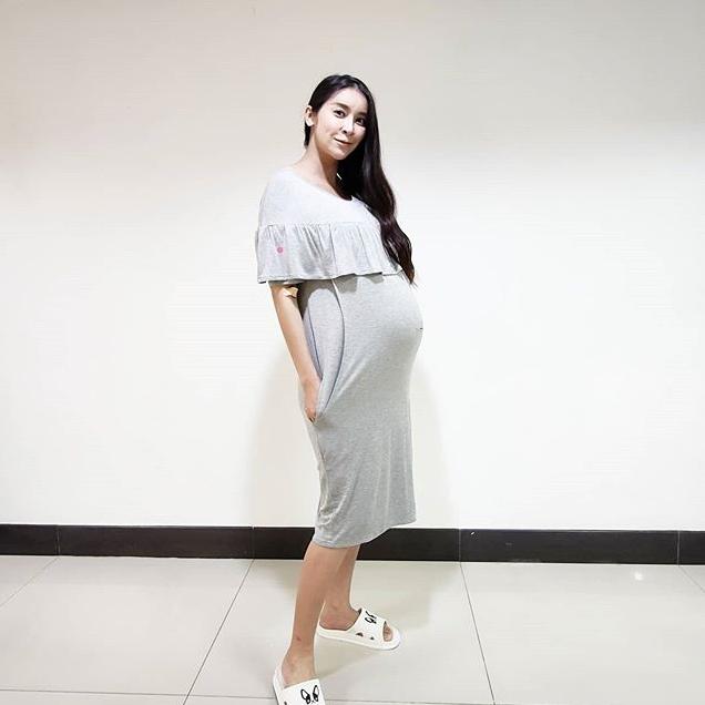 คอหวยห้ามพลาด ใหม่ สุคนธวา ท้อง 9 เดือนกว่า เล่าความฝัน ชาวเน็ตแห่ตีเลขเด็ด